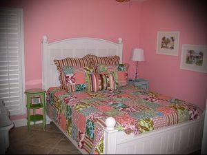 Интерьер детской комнаты для девочки - фото пример 022