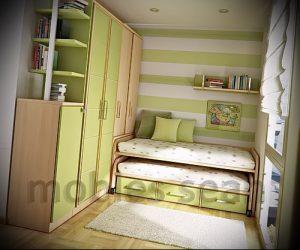 Интерьер детской комнаты для девочки - фото пример 023