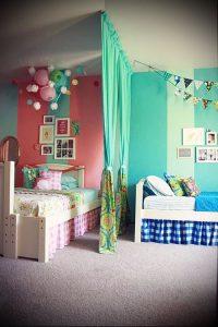 Интерьер детской комнаты для девочки - фото пример 024