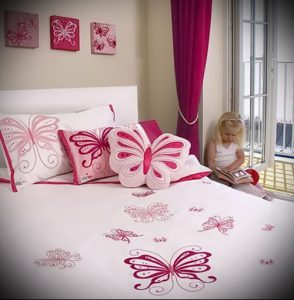 Интерьер детской комнаты для девочки - фото пример 029