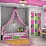 Интерьер детской комнаты для девочки - фото пример 031