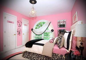 Интерьер детской комнаты для девочки - фото пример 033
