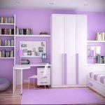 Интерьер детской комнаты для девочки - фото пример 034