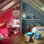Интерьер детской комнаты для девочки - фото пример 035
