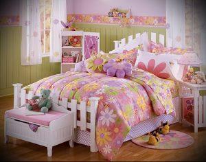 Интерьер детской комнаты для девочки - фото пример 037
