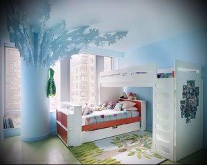 Интерьер детской комнаты для девочки - фото пример 038