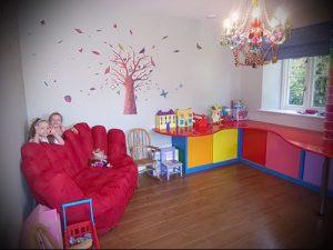 Интерьер детской комнаты для девочки - фото пример 039