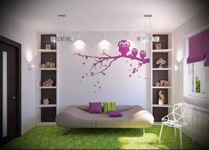 Интерьер детской комнаты для девочки - фото пример 040