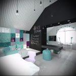 Интерьер детской комнаты для девочки - фото пример 044