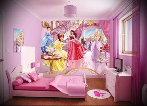 Интерьер детской комнаты для девочки - фото пример 045