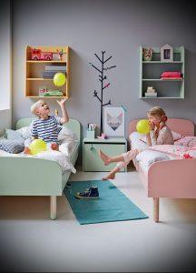 Интерьер детской комнаты для девочки - фото пример 046