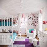 Интерьер детской комнаты для девочки - фото пример 050