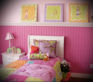 Интерьер детской комнаты для девочки - фото пример 052