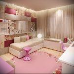 Интерьер детской комнаты для девочки - фото пример 053