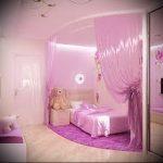 Интерьер детской комнаты для девочки - фото пример 054