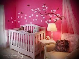 Интерьер детской комнаты для девочки - фото пример 055