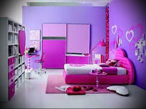 Интерьер детской комнаты для девочки - фото пример 057