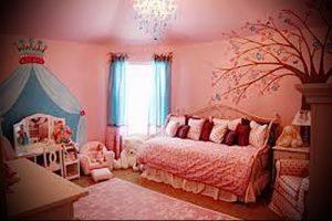 Интерьер детской комнаты для девочки - фото пример 060