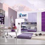 Интерьер детской комнаты для девочки - фото пример 061