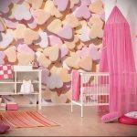 Интерьер детской комнаты для девочки - фото пример 066