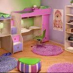 Интерьер детской комнаты для девочки - фото пример 067