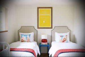 Интерьер детской комнаты для девочки - фото пример 069