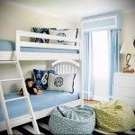 Интерьер детской комнаты для девочки - фото пример 070