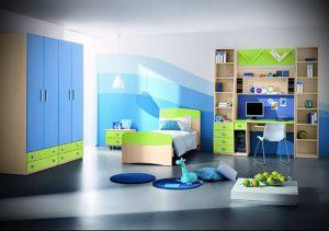Интерьер детской комнаты для девочки - фото пример 071