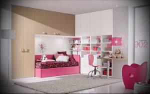 Интерьер детской комнаты для девочки - фото пример 071 123