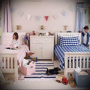 Интерьер детской комнаты для девочки - фото пример 077