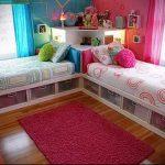 Интерьер детской комнаты для девочки - фото пример 078