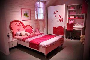 Интерьер детской комнаты для девочки - фото пример 079