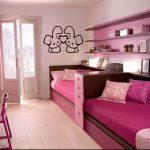 Интерьер детской комнаты для девочки - фото пример 081