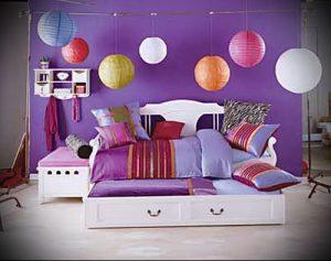 Интерьер детской комнаты для девочки - фото пример 083