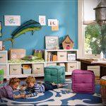 Интерьер детской комнаты для девочки - фото пример 085