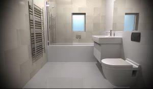 Фото Интерьер ванной комнаты совмещенной с туалетом - 22052017 - пример - 003