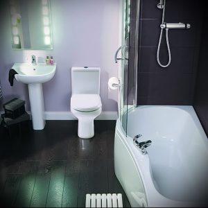 Фото Интерьер ванной комнаты совмещенной с туалетом - 22052017 - пример - 008