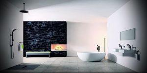 Фото Интерьер ванной комнаты совмещенной с туалетом - 22052017 - пример - 014