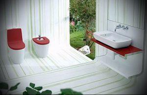 Фото Интерьер ванной комнаты совмещенной с туалетом - 22052017 - пример - 021