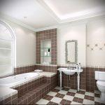 Фото Интерьер ванной комнаты совмещенной с туалетом - 22052017 - пример - 026
