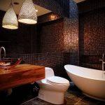 Фото Интерьер ванной комнаты совмещенной с туалетом - 22052017 - пример - 032
