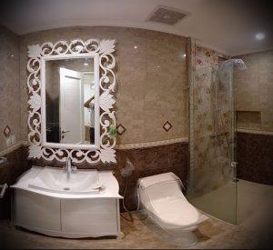 Фото Интерьер ванной комнаты совмещенной с туалетом - 22052017 - пример - 035