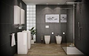 Фото Интерьер ванной комнаты совмещенной с туалетом - 22052017 - пример - 036
