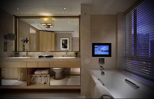 Фото Интерьер ванной комнаты совмещенной с туалетом - 22052017 - пример - 046
