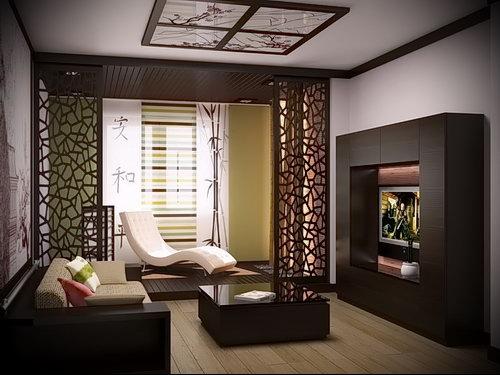 Фото Интерьер гостиной в японском стиле - 29052017 - пример - 002 Japanese style