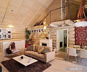 Фото Интерьер деревенского дома - 22052017 - пример - 014 Interior of a country house