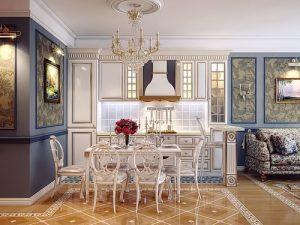 Фото Интерьер кухни-столовой - 22052017 - пример - 001 Kitchen-dining room interior