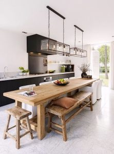 Фото Интерьер кухни-столовой - 22052017 - пример - 029 Kitchen-dining room interior