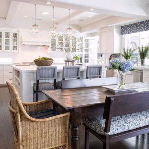 Фото Интерьер кухни-столовой - 22052017 - пример - 035 Kitchen-dining room interior