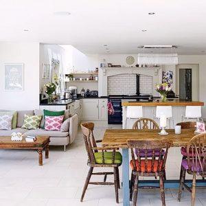 Фото Интерьер кухни-столовой - 22052017 - пример - 036 Kitchen-dining room interior